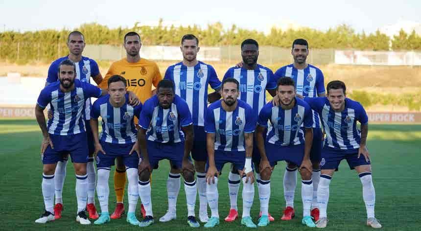 FC Porto 5 - 3 Lyon, jogo de apresentação