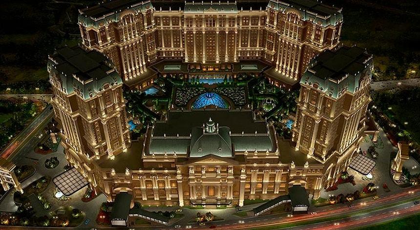 O Grand Lisboa Palace abre esta sexta-feira em Macau por fases