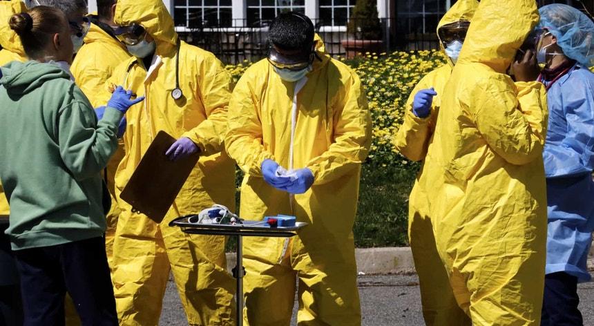 Apesar dos esforços das autoridades de saúde a pandemia continua a ser arrasadora nos Estados Unidos