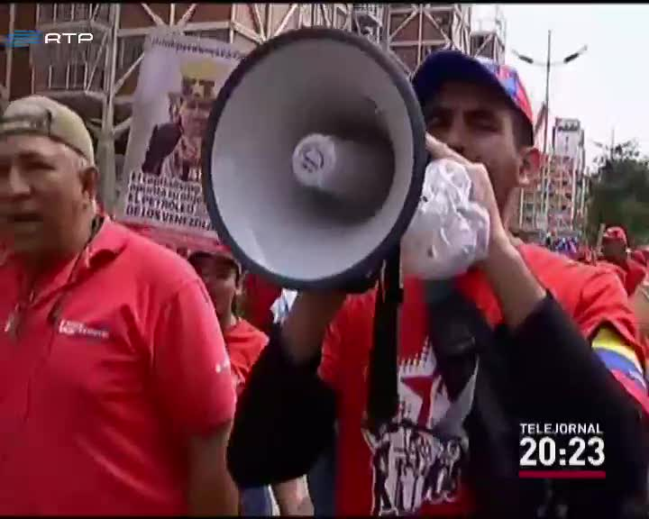 ef91e5fb8c Prosseguem as manifestações anti-governamentais na Venezuela - Mundo - RTP  Notícias