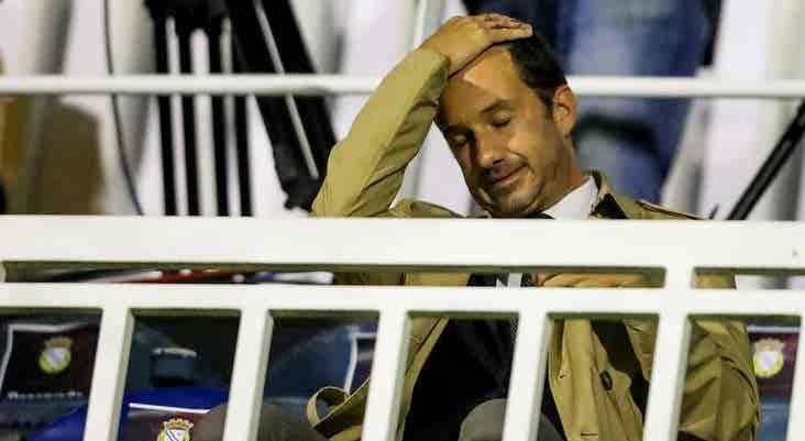Varandas sente-se envergonhado com eliminação do Sporting da Taça