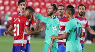 Real Madrid vence em Granada e pode festejar título se vencer Villarreal na quinta-feira