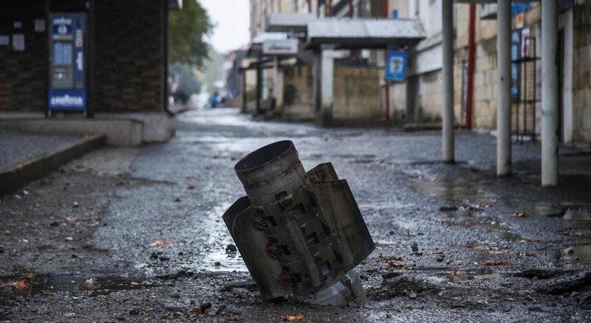 Invólucro de rocket   David Ghahramanyan - Reuters