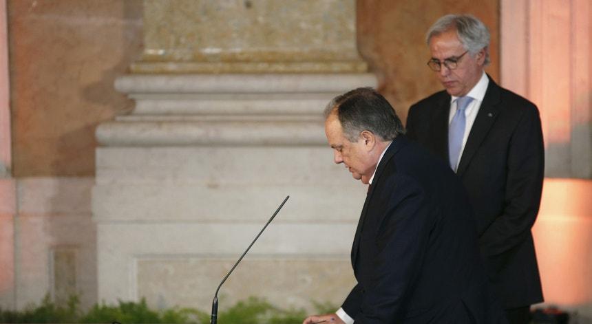 João Soares na tomada de posse do XXI Governo Constitucional, a 26 de novembro de 2015
