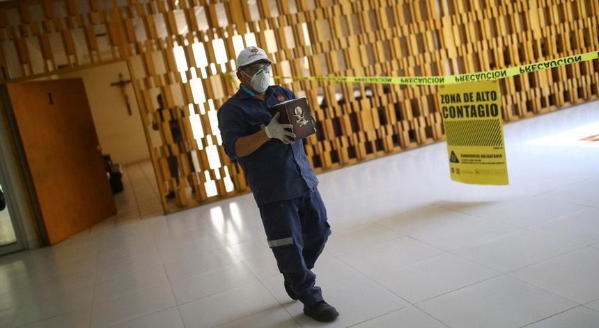 Apesar de todos os cuidados os mexicanos continuam a sofrer com a pandemia