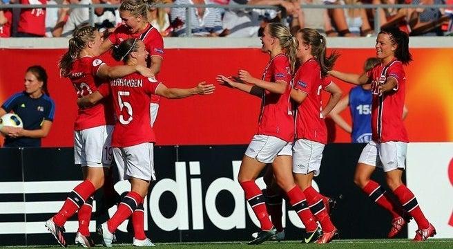 bf079c9761 A Noruega e a Dinamarca juntaram-se hoje a Suécia e Alemanha nas  meias-finais do campeonato europeu de futebol feminino
