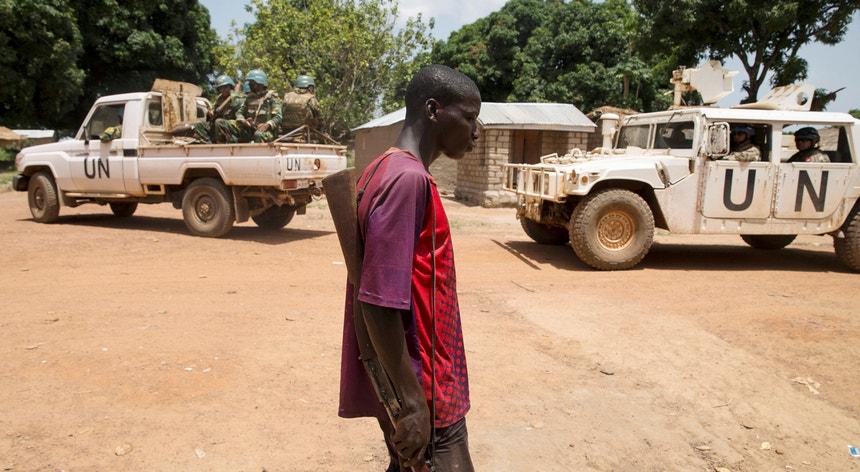 """O incidente de sexta-feira ocorreu quando os militares portugueses """"estavam a patrulhar"""" a cidade de Bambari, no centro daquele país africano"""