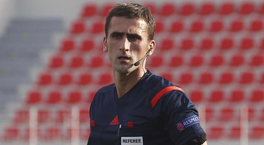 Nikola Dabanovic estará quinta-feira no Estádio do Dragão