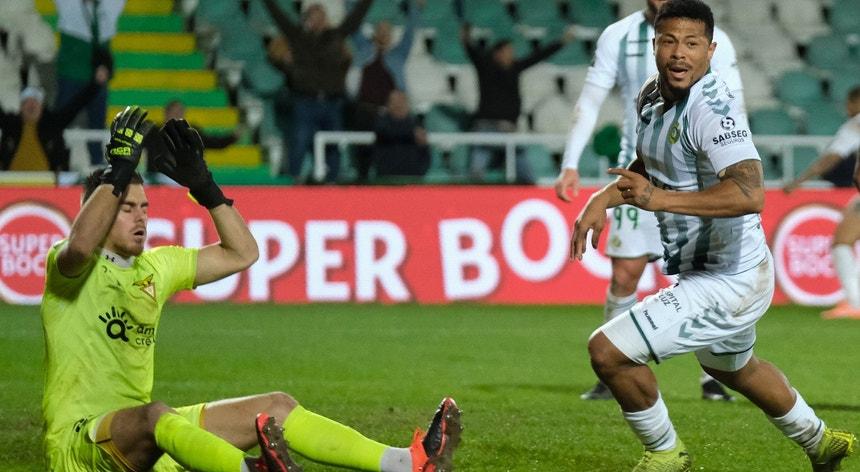 Hildeberto Pereira marcou o golo do triunfo