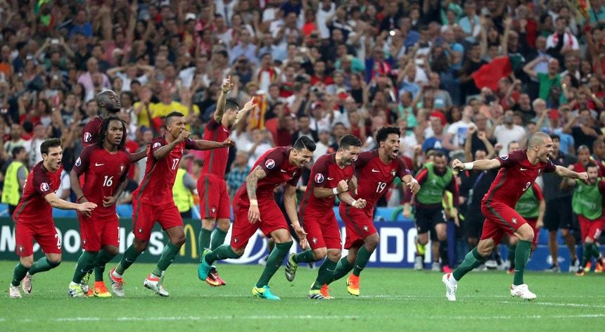 A seleção de Portugal venceu a Polónia e corre para as meias-finais do Euro2016