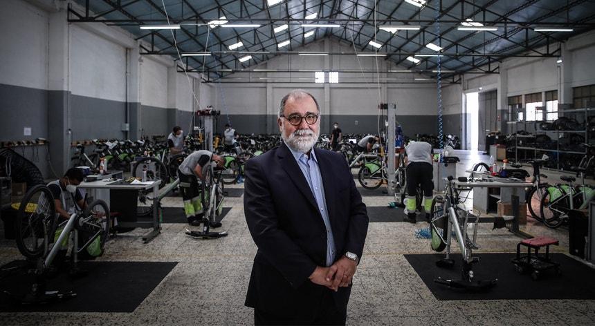 O presidente da EMEL, Luís Natal Marques