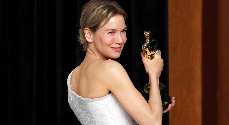 """O prémio de Melhor Atriz foi atribuído a Renee Zellweger pela interpretação no filme """"Judy"""" / Lucas Jackson - Reuters"""