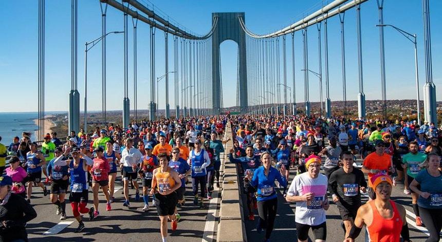 A Maratona de Nova Iorque terá este ano um número de participantes mais limitado