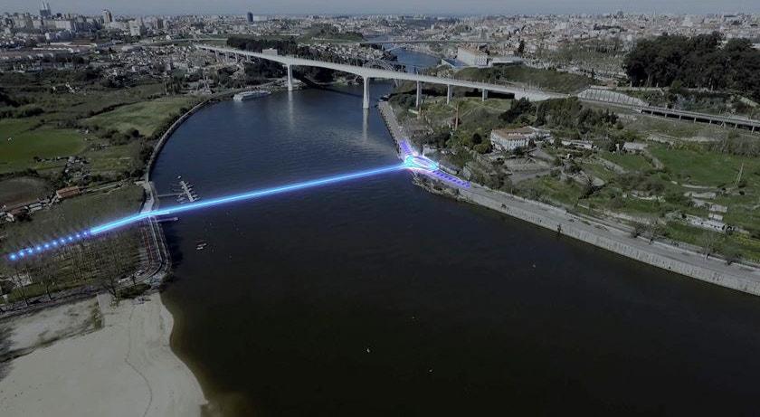 A nova ponte sobre o Douro estará pronta em 2025