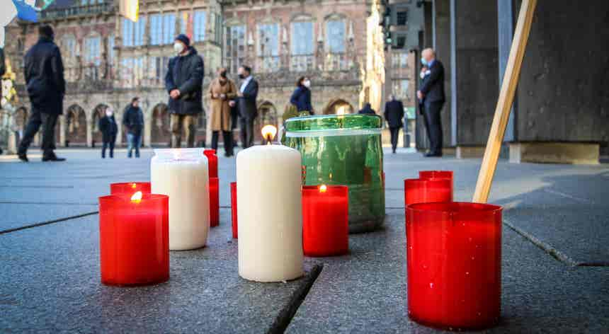 Homenagem na Alemanha