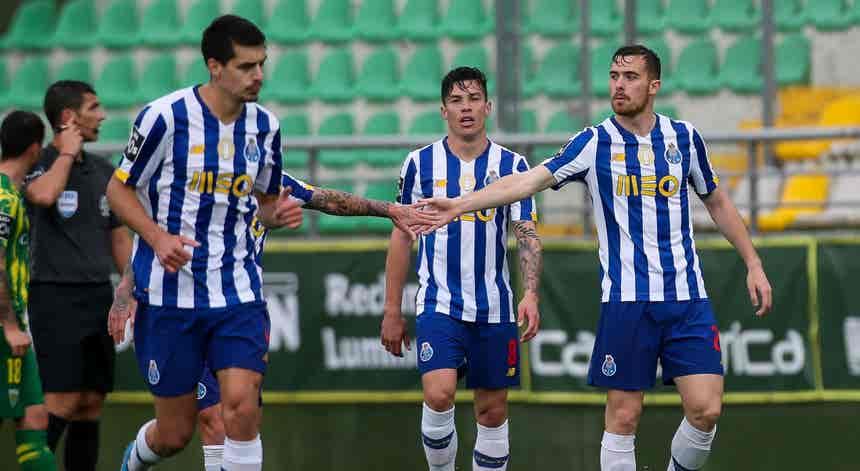Tondela - FC Porto, I Liga em direto