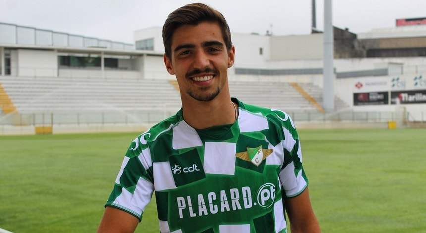Rodrigo Conceição já veste de verde e branco