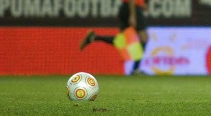 O jogador marcou três golos esta época