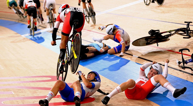 Ciclismo de pista   Foto: Matthew Childs  - Reuters