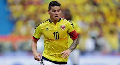 James Rodríguez dispensado por Carlos Queiroz da seleção da Colômbia