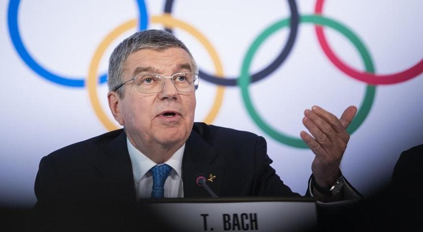 Thomas Bach pede a Portugal que vacine a sua missão olímpica