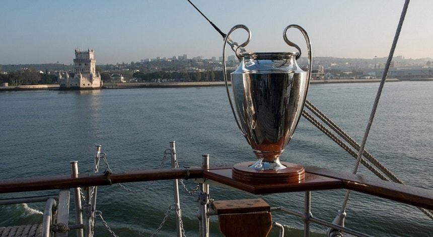 A taça mais desejada está em Lisboa e a capital portuguesa nos olhos do mundo
