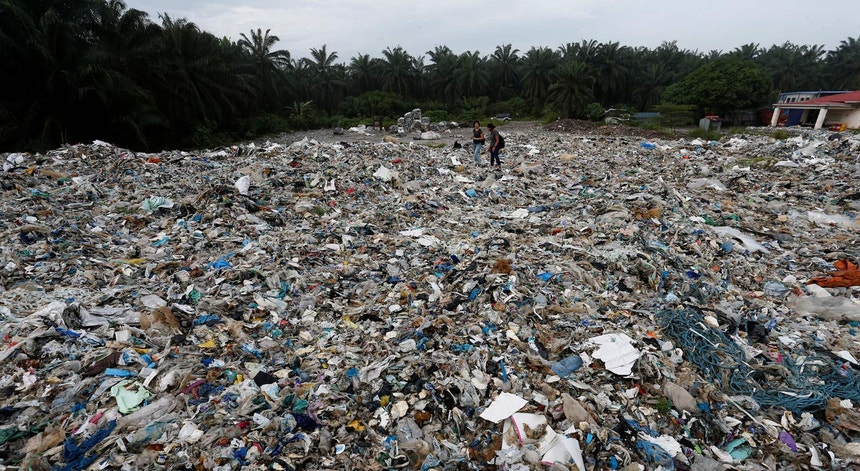As importações malaias de lixo plástico rondam as 456 mil toneladas no primeiro semestre de 2018.