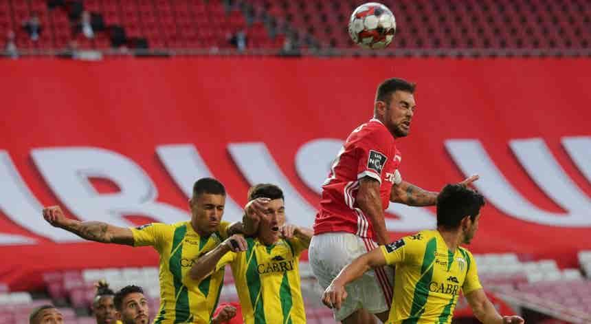 I Liga. Benfica empata com Tondela no Estádio da Luz