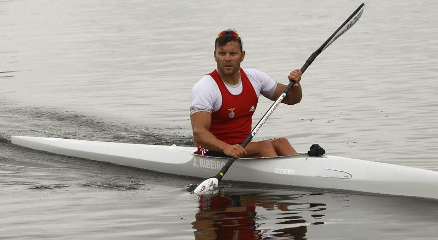 João Ribeiro somou três títulos nos nacionais de velocidade de canoagem