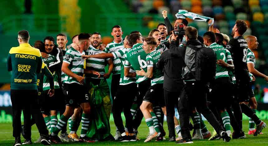 Sporting. O `Leão` é campeão depois de 19 anos de jejum