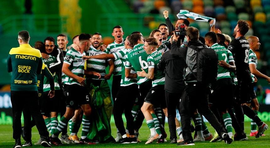 Sporting festeja o primeiro título de campeão nacional desde 2002