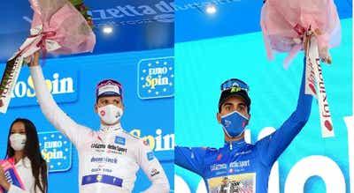 Regressam hoje a Portugal os heróis portugueses do Giro em Itália