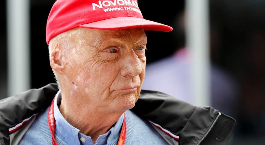 Niki Lauda foi tricampeão mundial de Fórmula 1