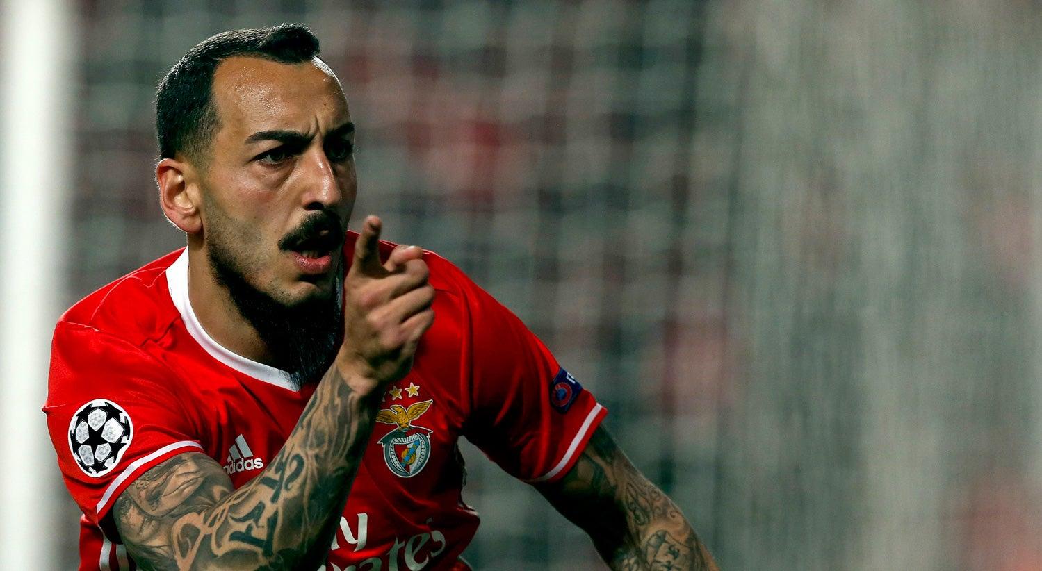 Mitroglou coloca Benfica em vantagem frente ao Borussia