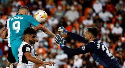 Real Madrid chega à liderança com reviravolta em Valência