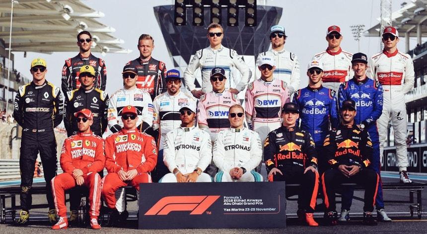 Classe de 2018 na Fórmula 1