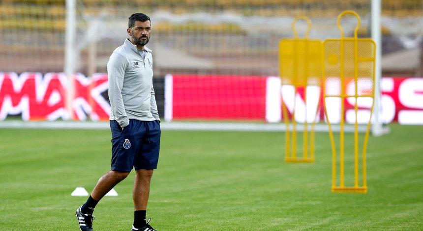 Sérgio Conceição pede respeito pelo Sintrense no jogo da Taça
