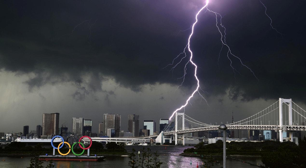 Rainbow Bridge   Kyodo - Reuters