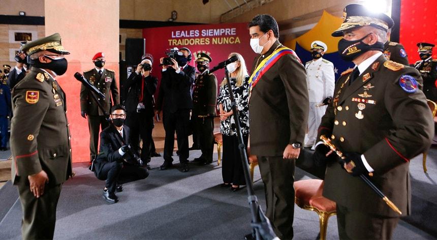 Maduro promoveu Néstor Reverol a general-chefe das Forças Armadas Bolivarianas