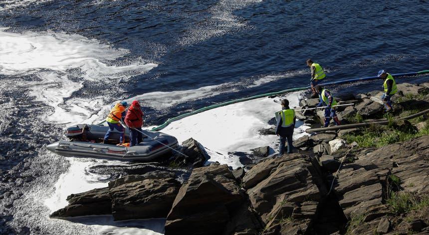 A Agência Portuguesa do Ambiente divulgou esta tarde o resultado das análises à água e à espuma recolhidas do Tejo na região de Abrantes