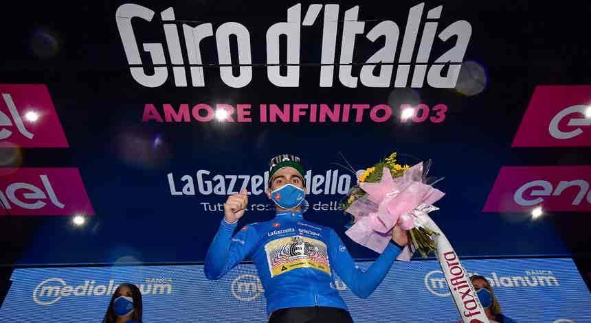 Volta a Itália. Ruben Guerreiro vencedor virtual da classificação da montanha