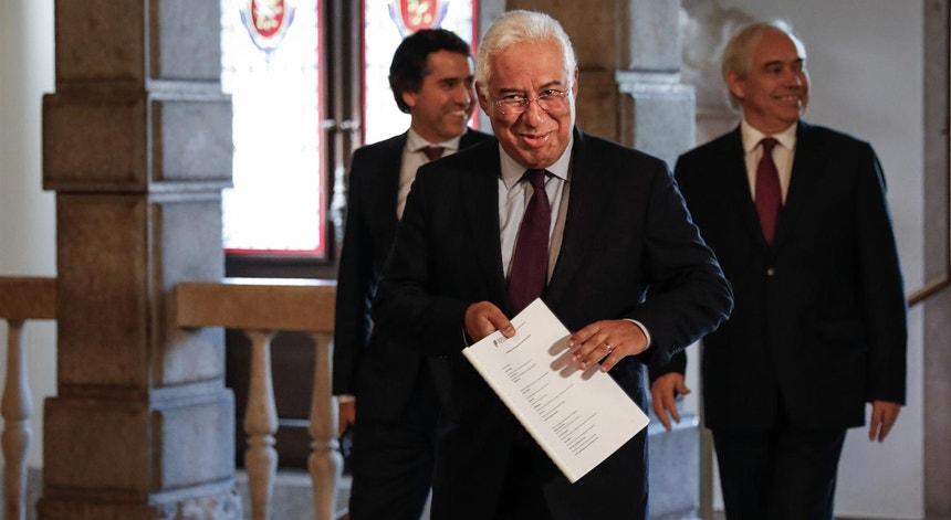 António Costa, primeiro-ministro de Portugal dia 20 de outubro de 2019