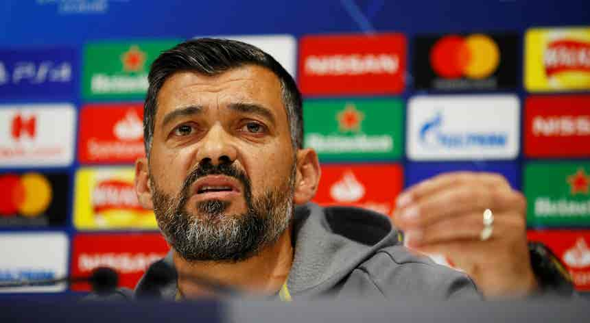 """Liga dos Campeões. Conceição quer FC Porto a repetir """"rigor e entreajuda"""" frente ao Manchester City"""