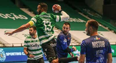 Sporting bate dinamarqueses e apura-se para a fase de grupos da Liga Europeia de andebol