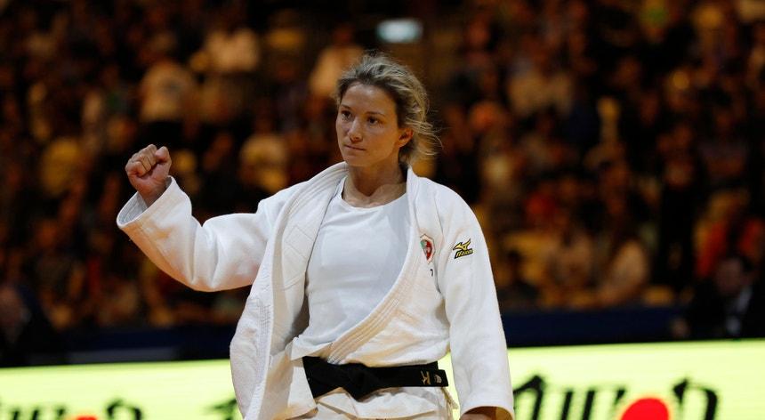 Telma Monteiro juntou mais um pódio à sua longa lista