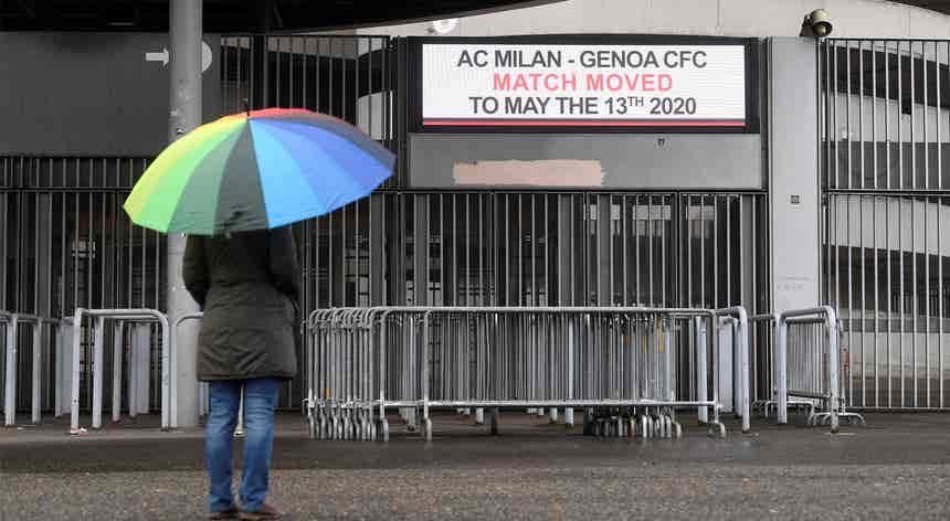 """Itália: regresso da competição em maio é """"irrealista"""""""