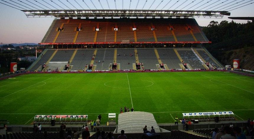O SC Braga terá falhado nas imagens de videovigilância do seu estádio