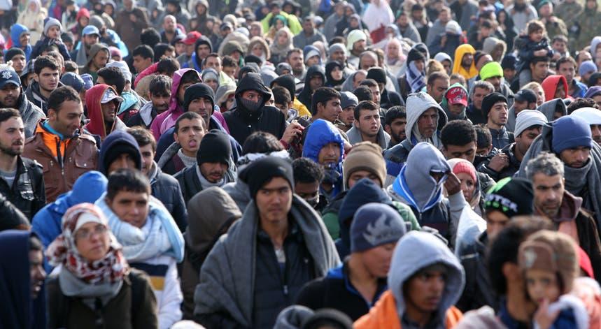 Desde dia 17 de outubro, 34.131 migrantes entraram na Eslovénia