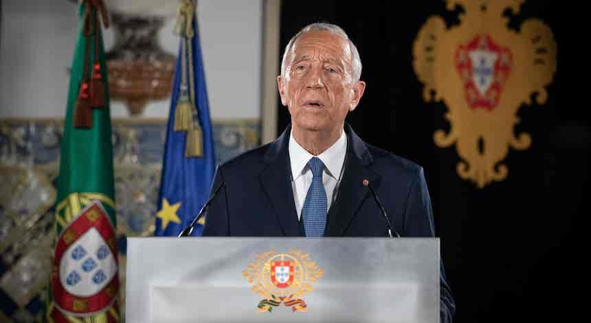 Estado de emergência. Presidente da República fala ao país