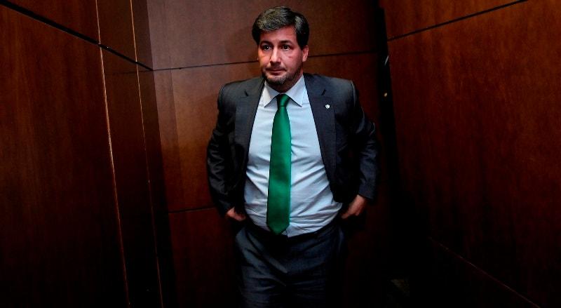 """O presidente do Sporting afirma que Jorge Jesus """"não é treinador para qualquer presidente""""."""